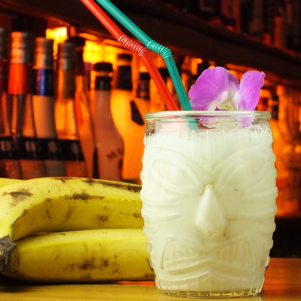 Confidential work of our shop ♪ 【Banana shake】
