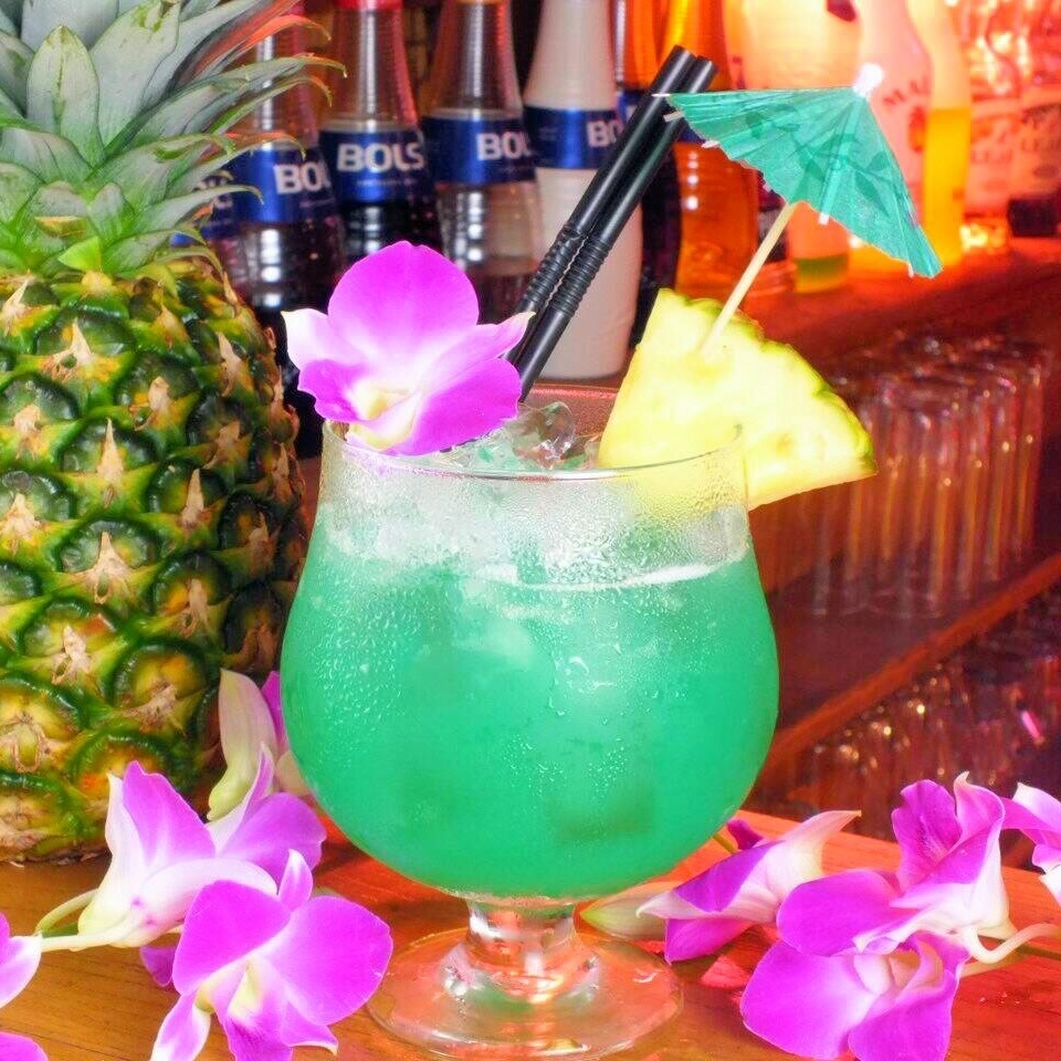 ♪ a number of colorful and cute drinks as well ♪ drink as much as you want