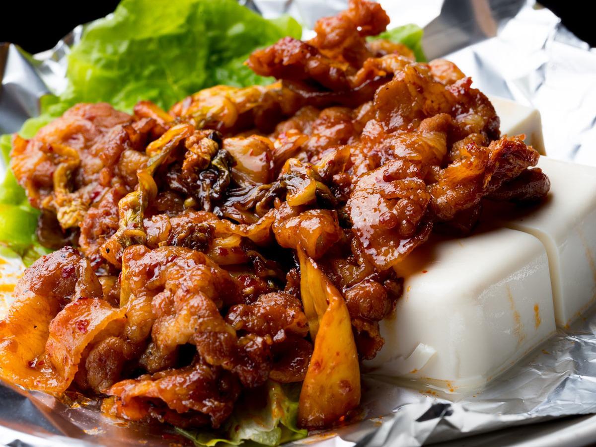 Special Kimchi Pokka (Pork Kimchi)