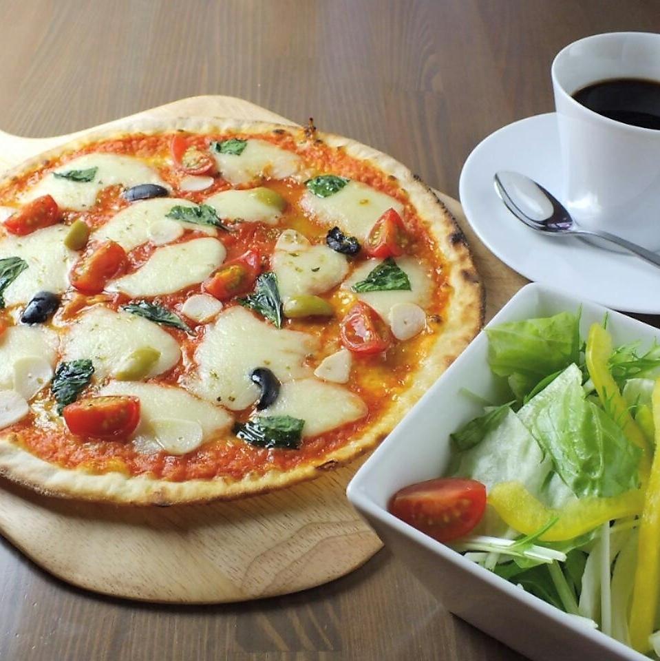 平日有限的比萨饼或意大利面(Ohmori免费!)比萨大象午餐套餐和B套装与Dolce♪