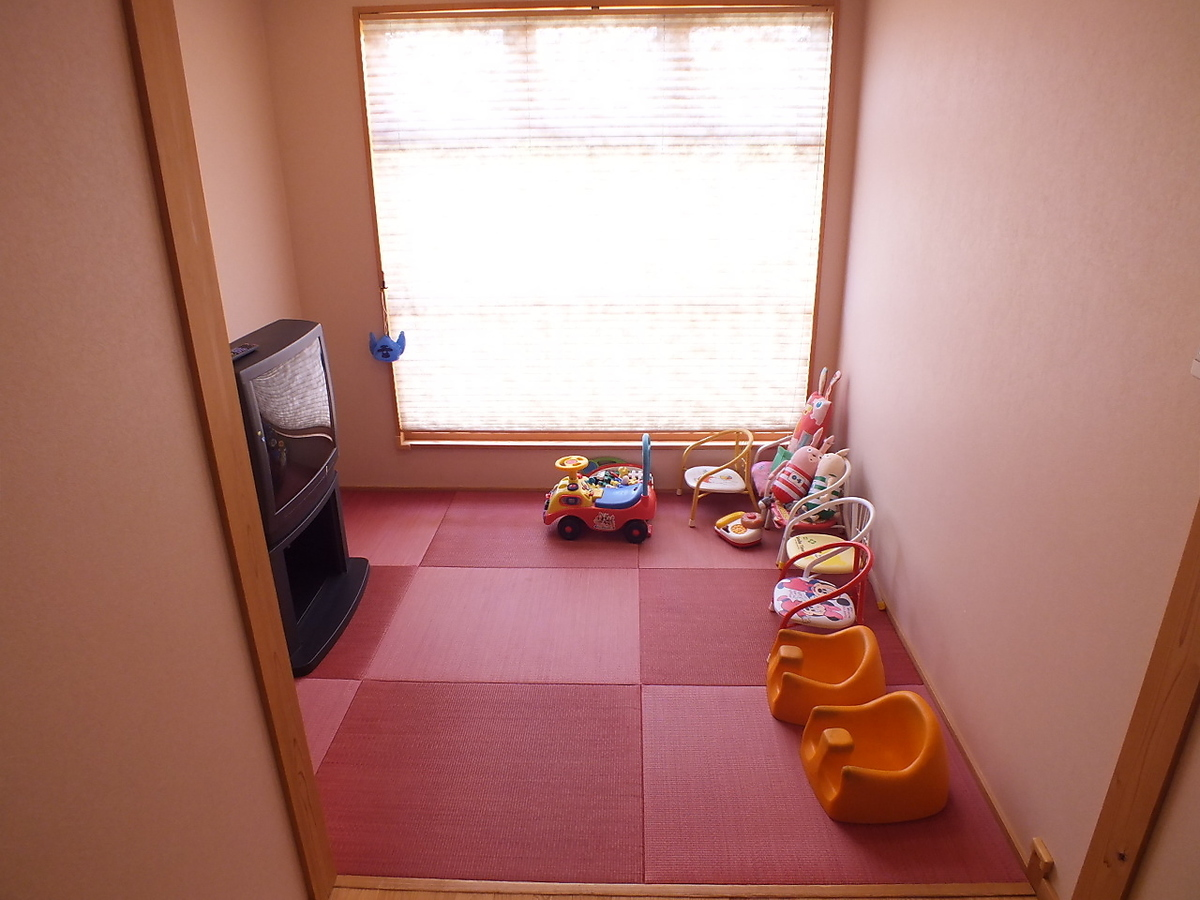 Children are happy, child room