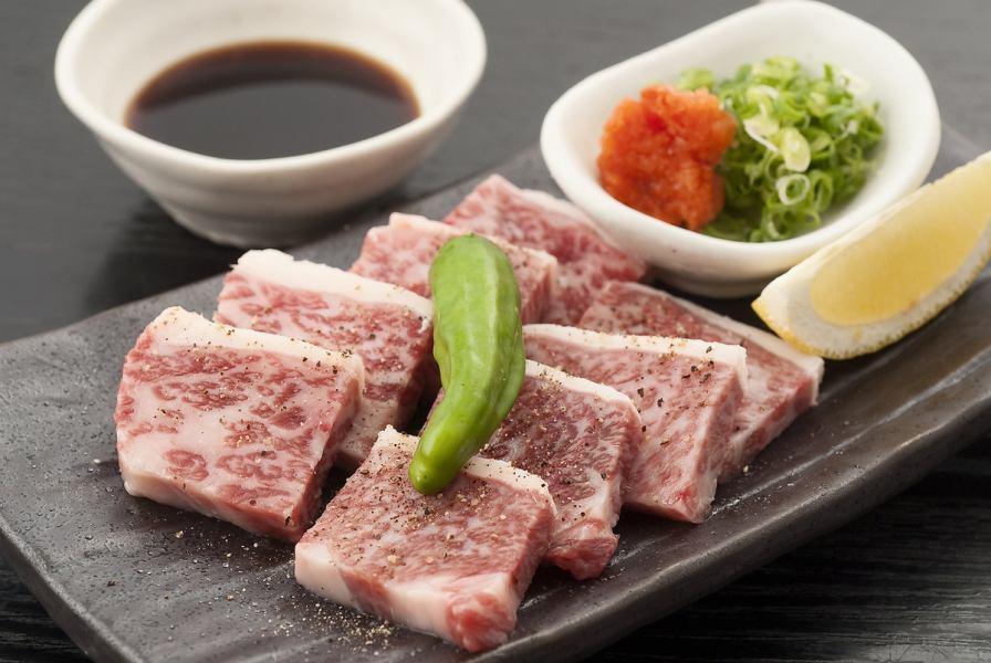 Kuroge Wagyu牛肉Calbie陶瓷格栅