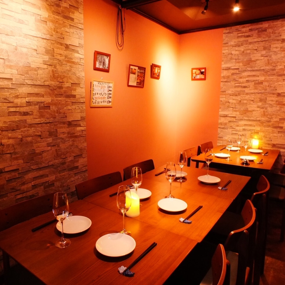 【12 ~ 30 people】 A charter welcome is ☆! You can use it widely including various banquets, anniversaries, celebrations ◇ ♪ <Shibuya Wine Cheese Girls Association Birthday Anniversary Day Private Room Previous Birth Saku-Bou>