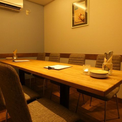 There is also a private room for 4 adults and up to 8 people ☆