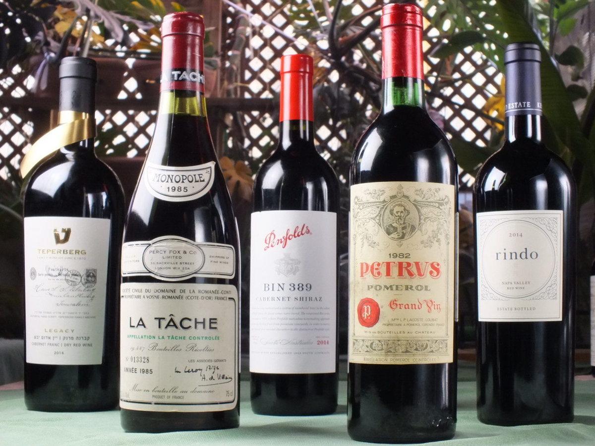 シェフ厳選ワイン