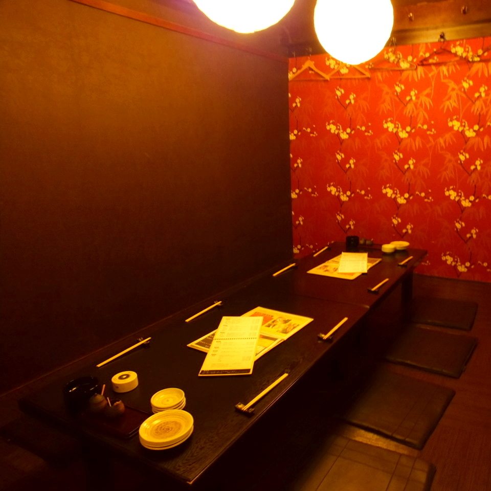Private rooms can be connected so you can use a wide range of drinks from parties to banquets ♪