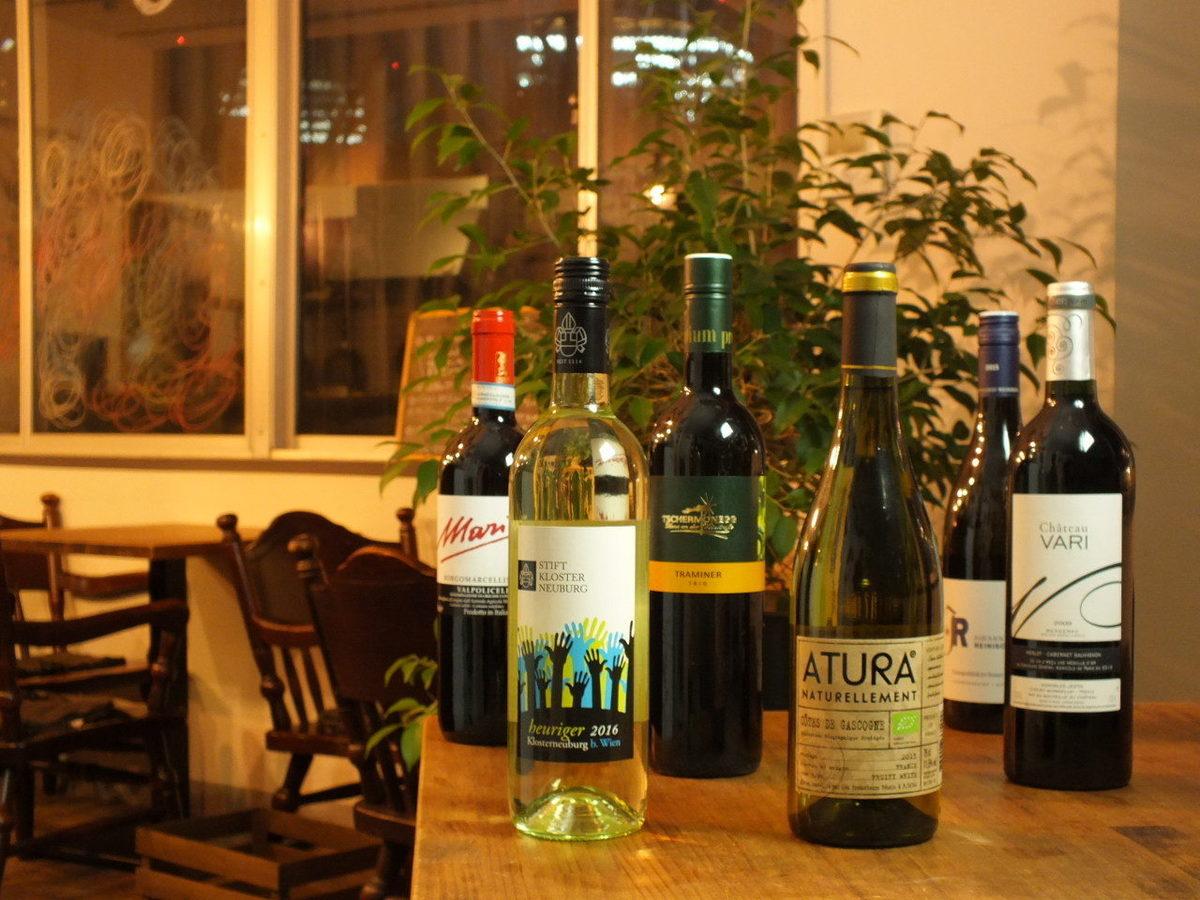 Popular natural wines
