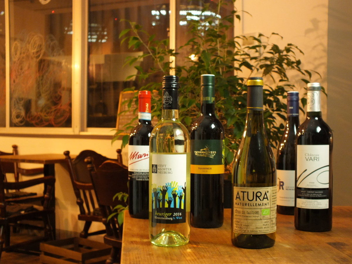 Beautiful tomorrow with natural wine (^ ^) v Put white wine!