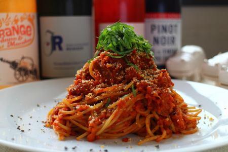 Today's full-grain spaghetti