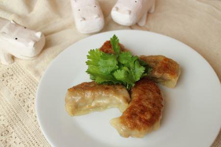 香菜饺子(4个)