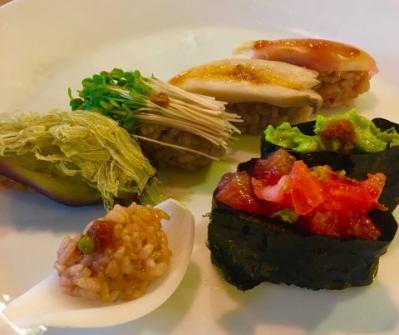 【木・金限定】おやさい寿司