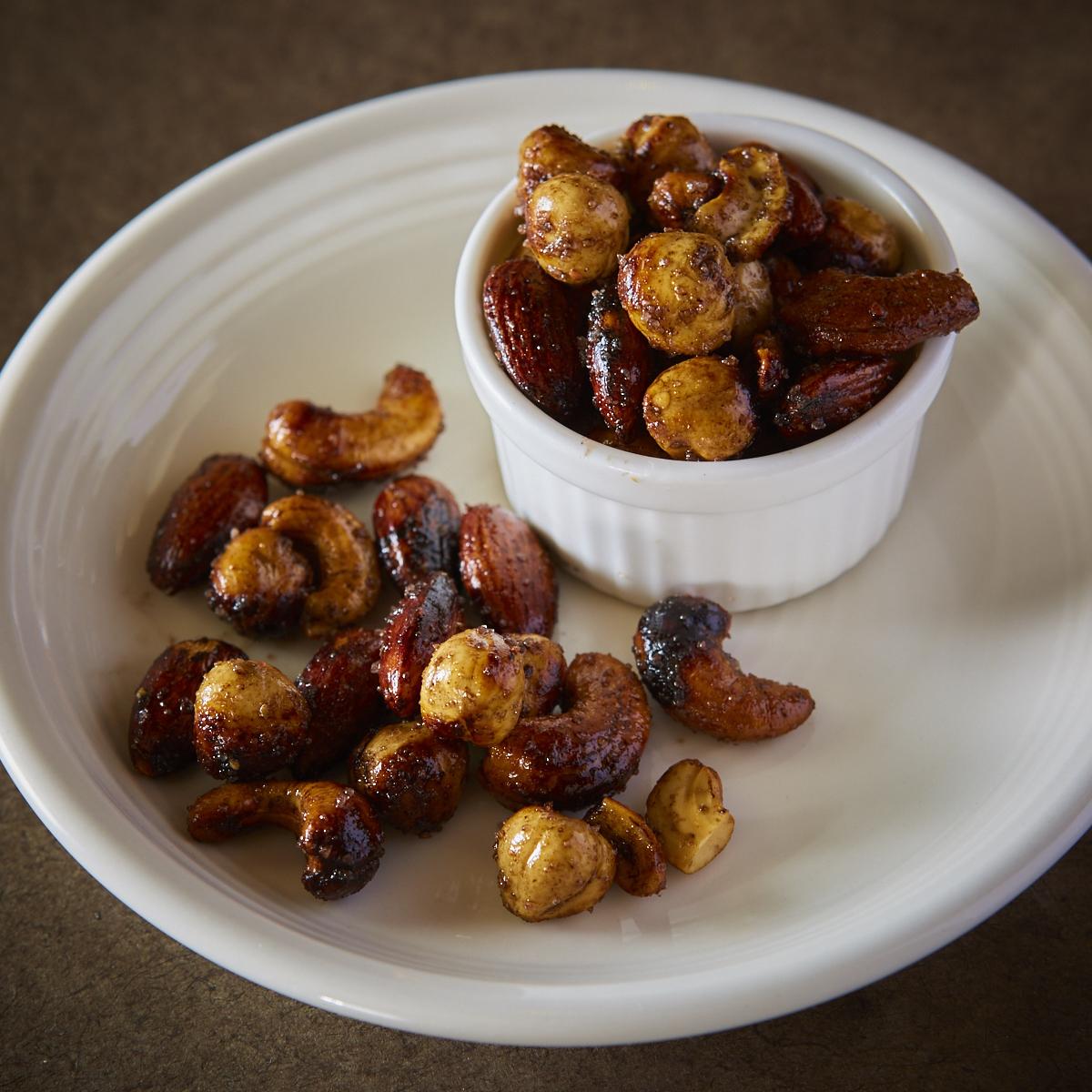 ■ 송로 버섯 향기 수제 등심 견과류