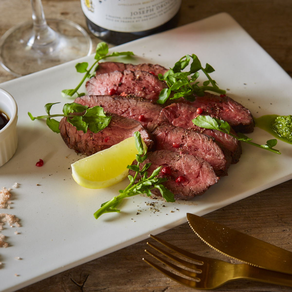 US made beef Harami oven grilled