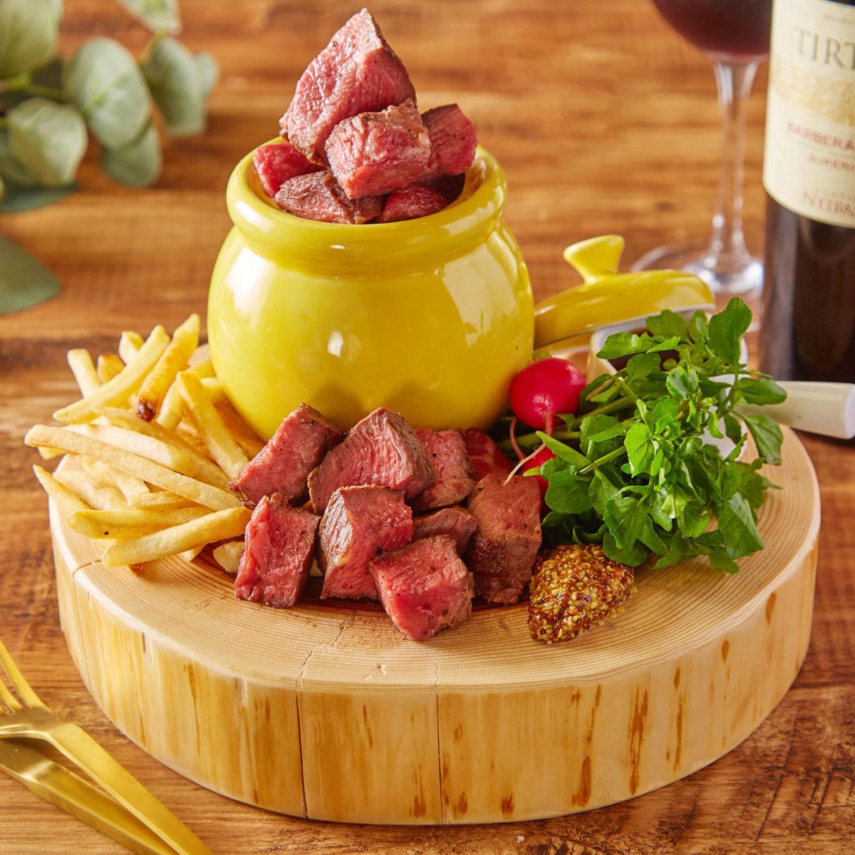 Bee House specialty meat honey pot