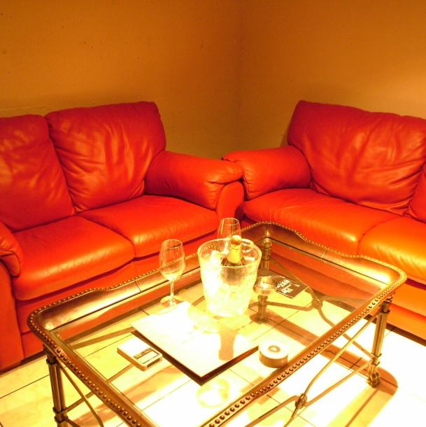 Private drinking party, anniversary, a little adult companion etc Special day ... ... relaxing sofa atmosphere preeminent VIP room private room ☆