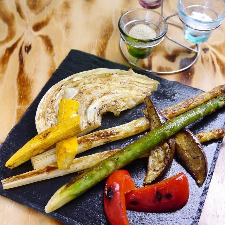 Teppanyaki with seasonal vegetables