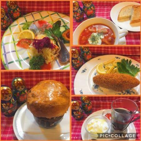 [羅宋湯,肉片,如折扣1人 - !]烏克蘭當然4000日元