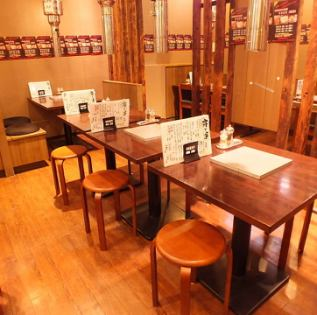 テーブル12名席「炭火焼きホルモン太一亀有店」席のレイアウト次第で6名様まで承れます♪