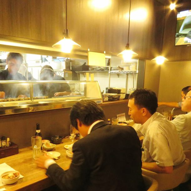 As we are watching the shop owner baked yakitori, we have one cup this evening ... We are open from 15 o'clock, so please use late lunch, when you finish work early, please feel free to come and have a cup of coffee! The goodness and authentic Yakitori is reasonable price of 120 yen ~, popular with Asahi people since OPEN