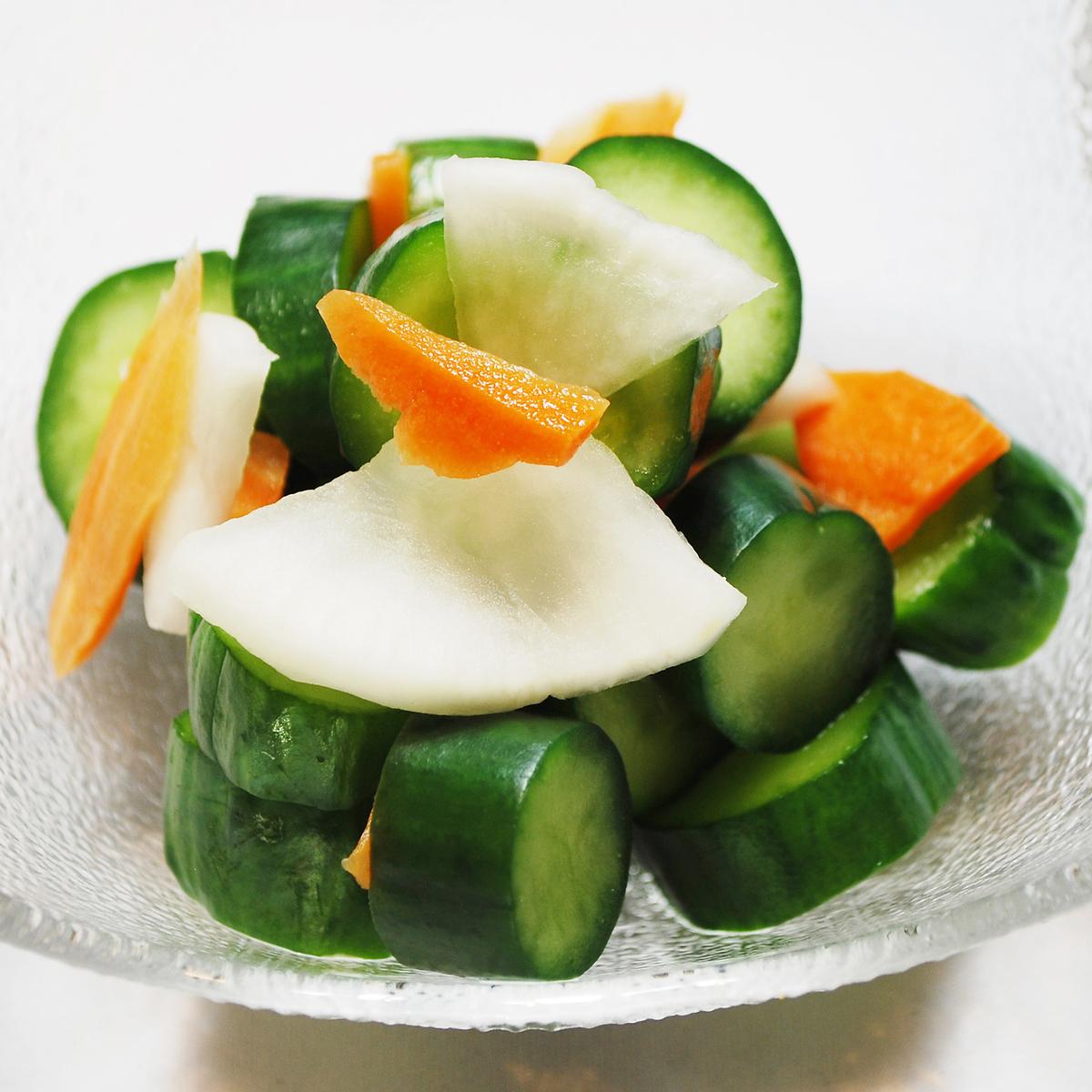 Seasonal pickles