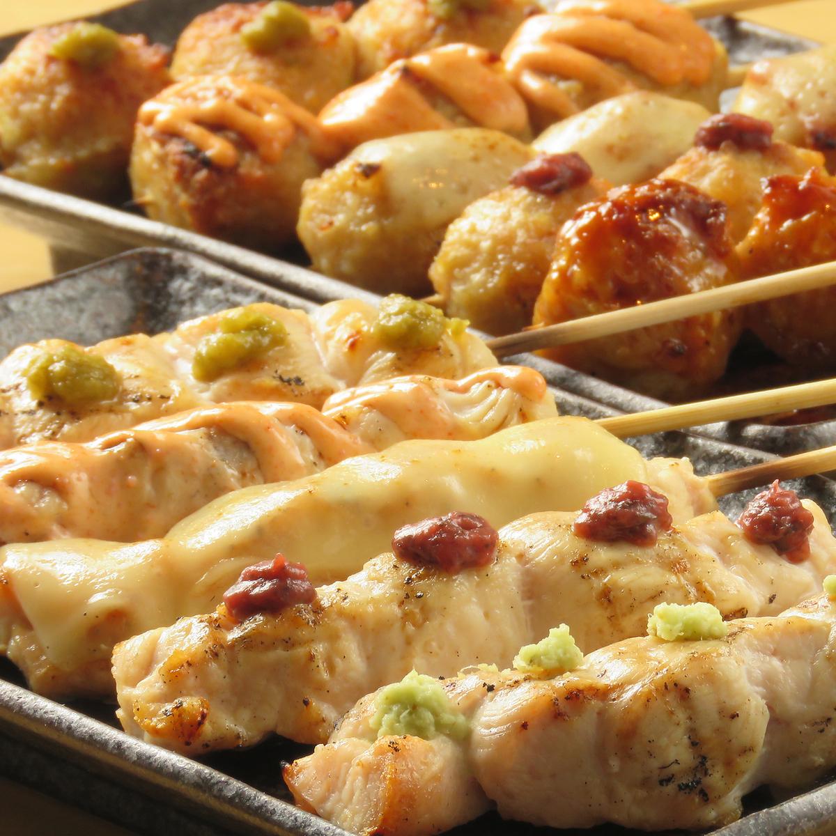 还有午餐和晚餐派对◎外卖OK!正宗的木炭烤冰★