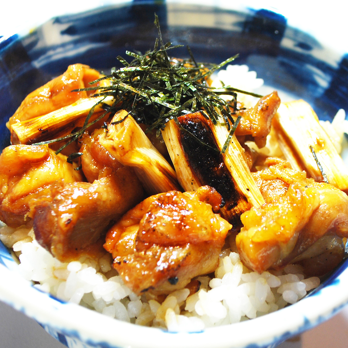 A little late lunch ★ 15 o'clock meals 【Yakitori bowl】