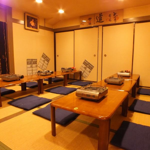 Inside of calm atmosphere that full of Japanese taste.Soft lighting is comfortable and you can enjoy your meal while talking relaxedly.Of course big party welcome is also welcome! Lots of menus are available.