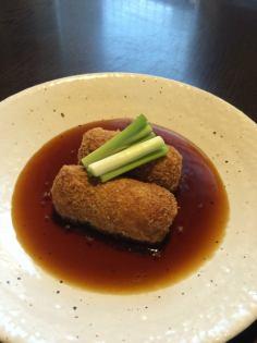 Taro croquette (2 pieces)