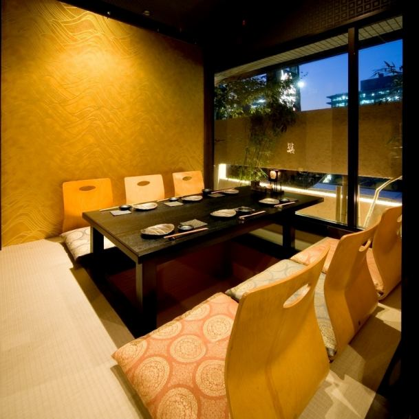 Popular private room is also recommended for your banquet rooms! Entertainment or company relationship up to 4 people private rooms to 16 people private room.