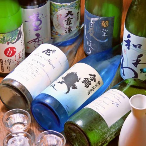 酒処信州の【信州地酒】1杯650円~