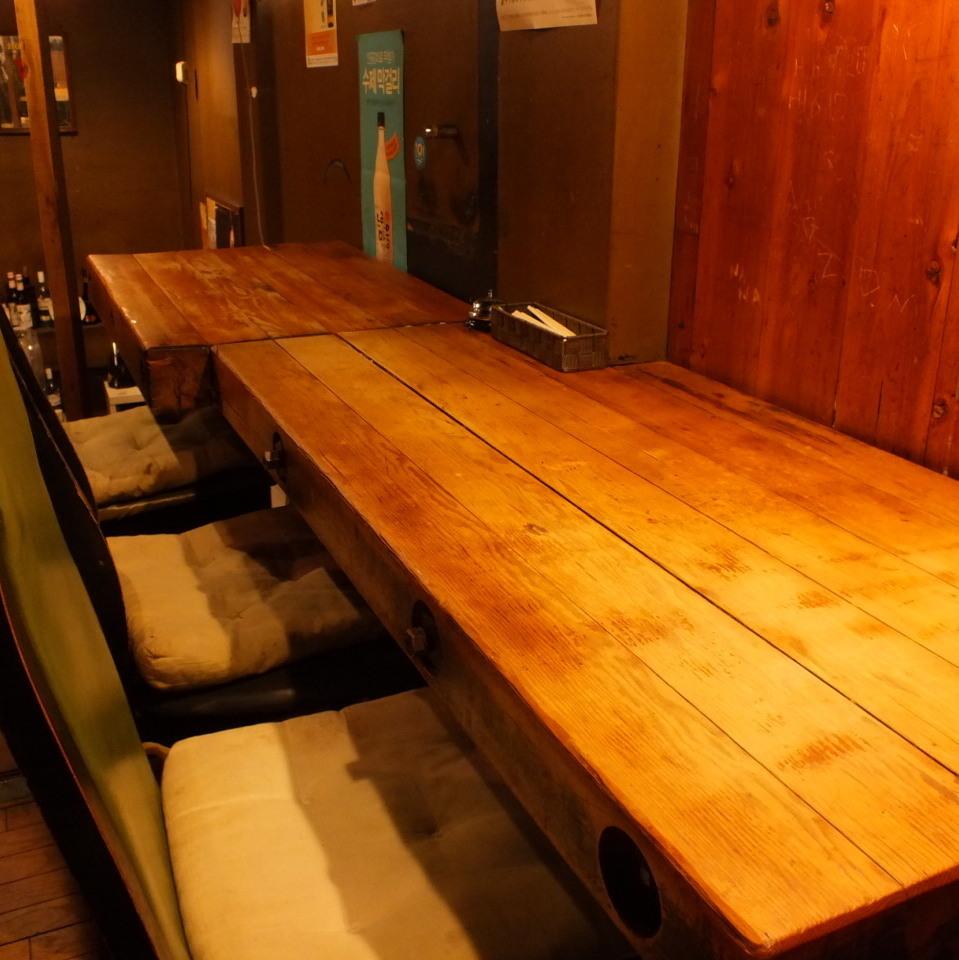【2樓櫃檯】可供3人使用的櫃檯座位