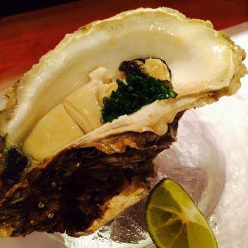In today of raw oysters or grilled brat-style of the day ~