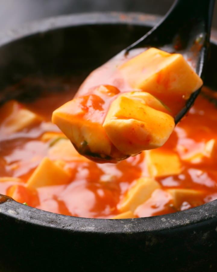石焼マーボ豆腐