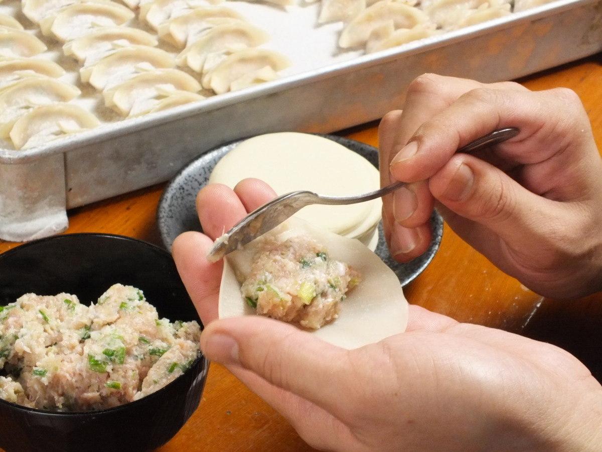 承诺茶猪肉饺子