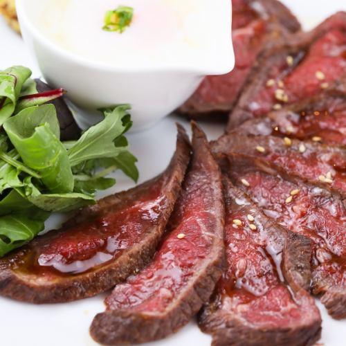 絶品の肉料理