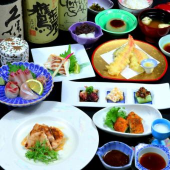 【All-you-can-drink for 2 hours】 Banquet course 6000 yen