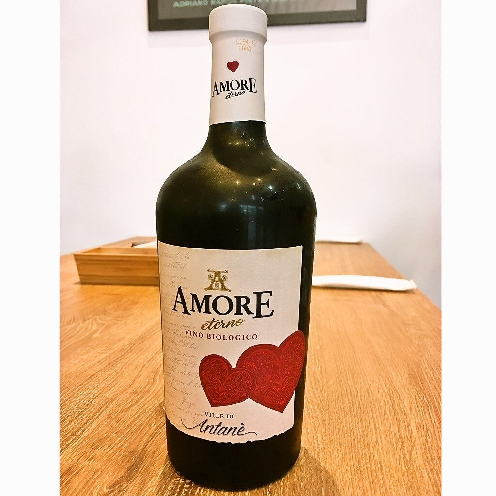 Amore Eternno Organic Rosso (full body) WINE ~ RED ~