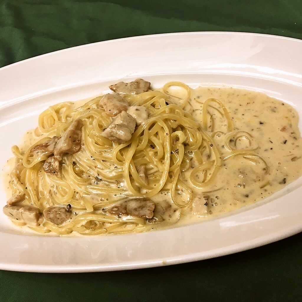 Truffle and porcini creamy cream sauce