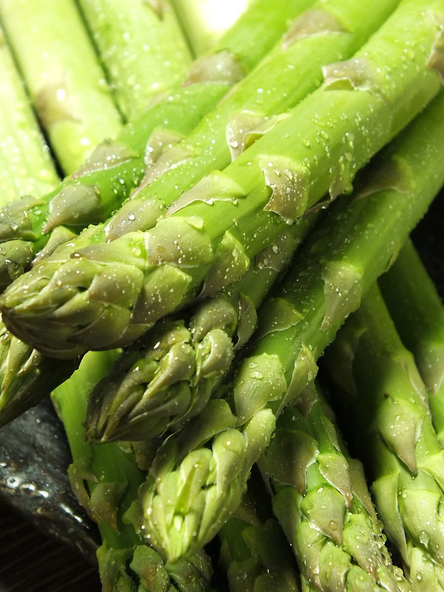 2L size! Asparagus!