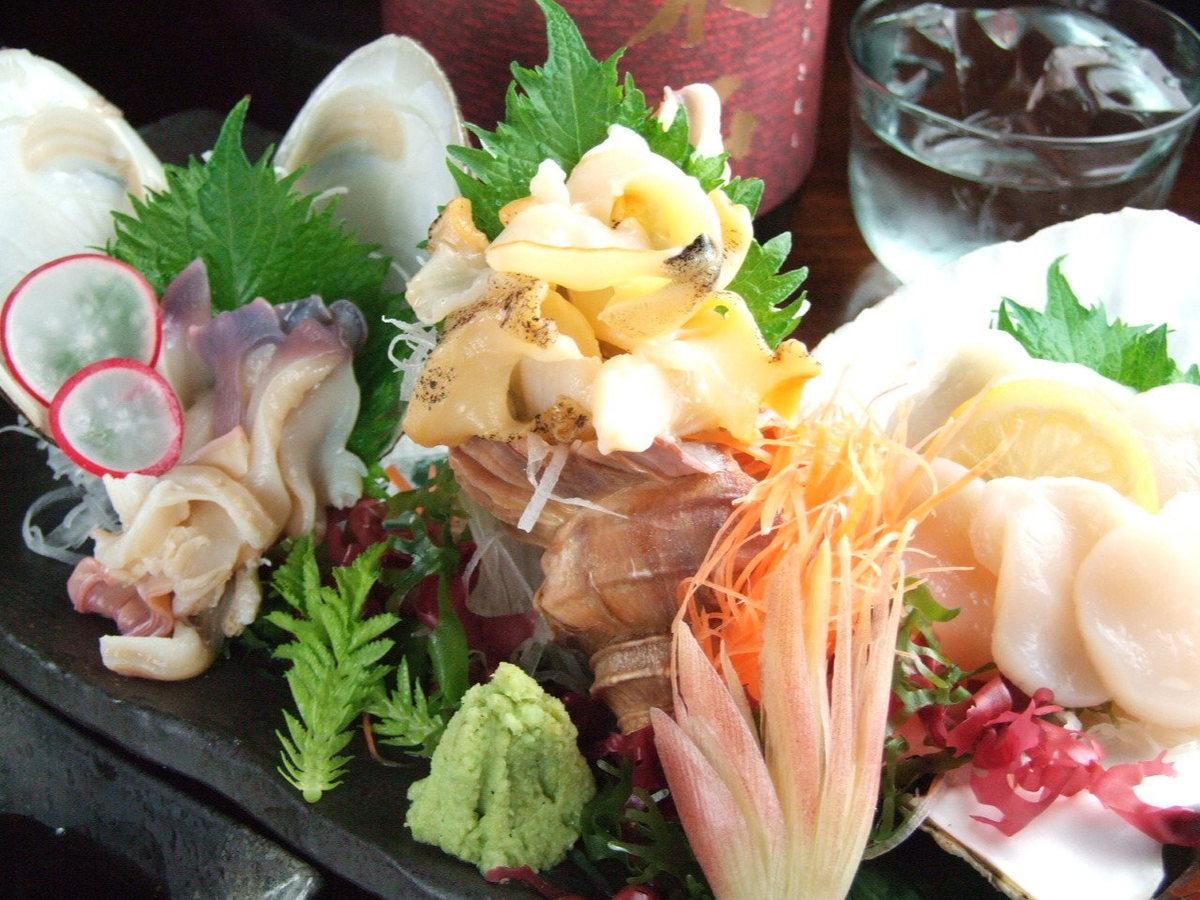 Assortment of shellfish! 3 beech beech platter assorted