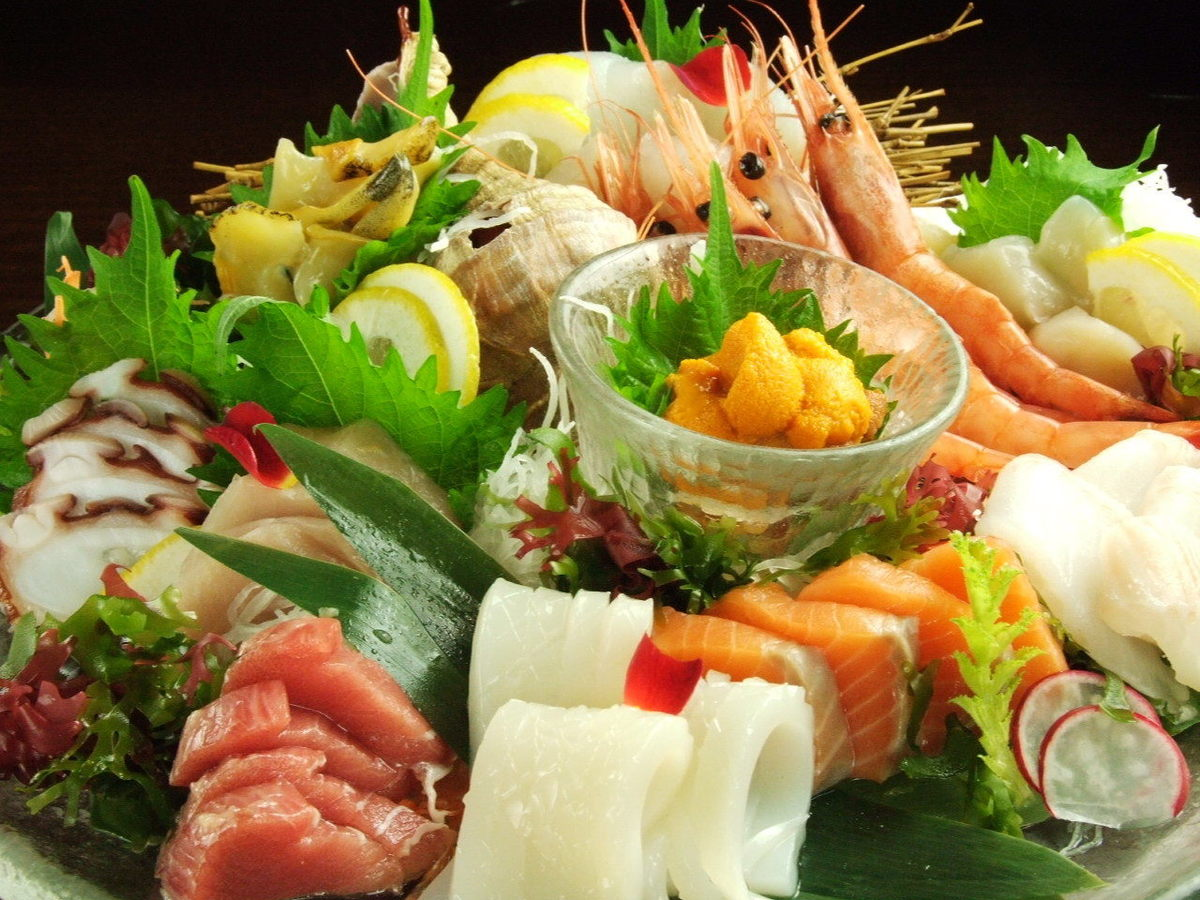Assorted selected fresh fish of the day! To the staff for details!
