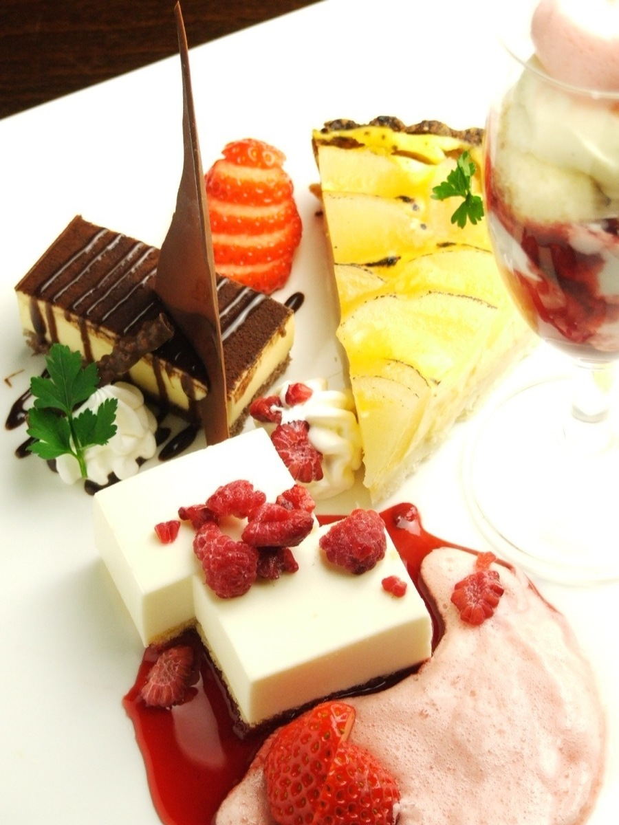Popular chef chief specialty vague dessert ♪ ♪