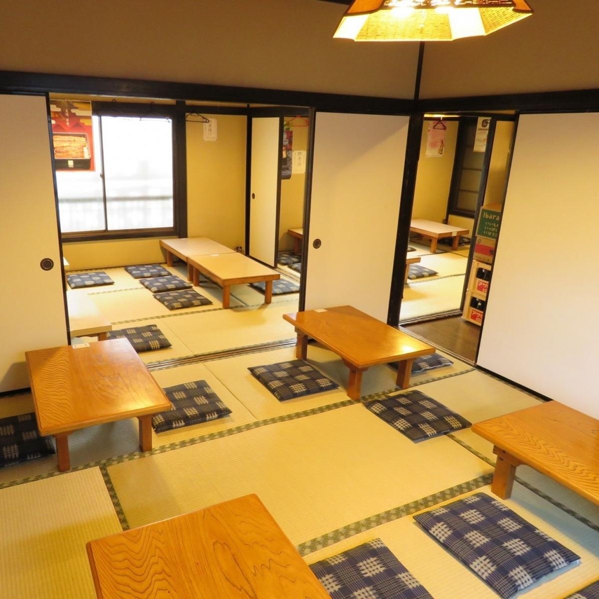由于3个房间可以作为2F楼层的私人房间使用,因此可以根据人数进行响应!!