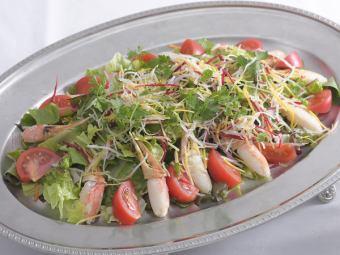 カニつめサラダ