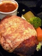 漢堡包乾酪蕃茄鐵板材