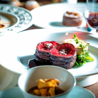 «Chef Recommended !! 【Seasonal Food Course Full Course】 5000 yen (excluding tax)»