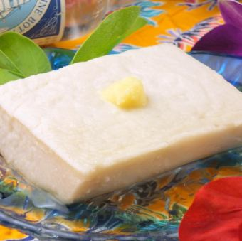 自製Jimami豆腐