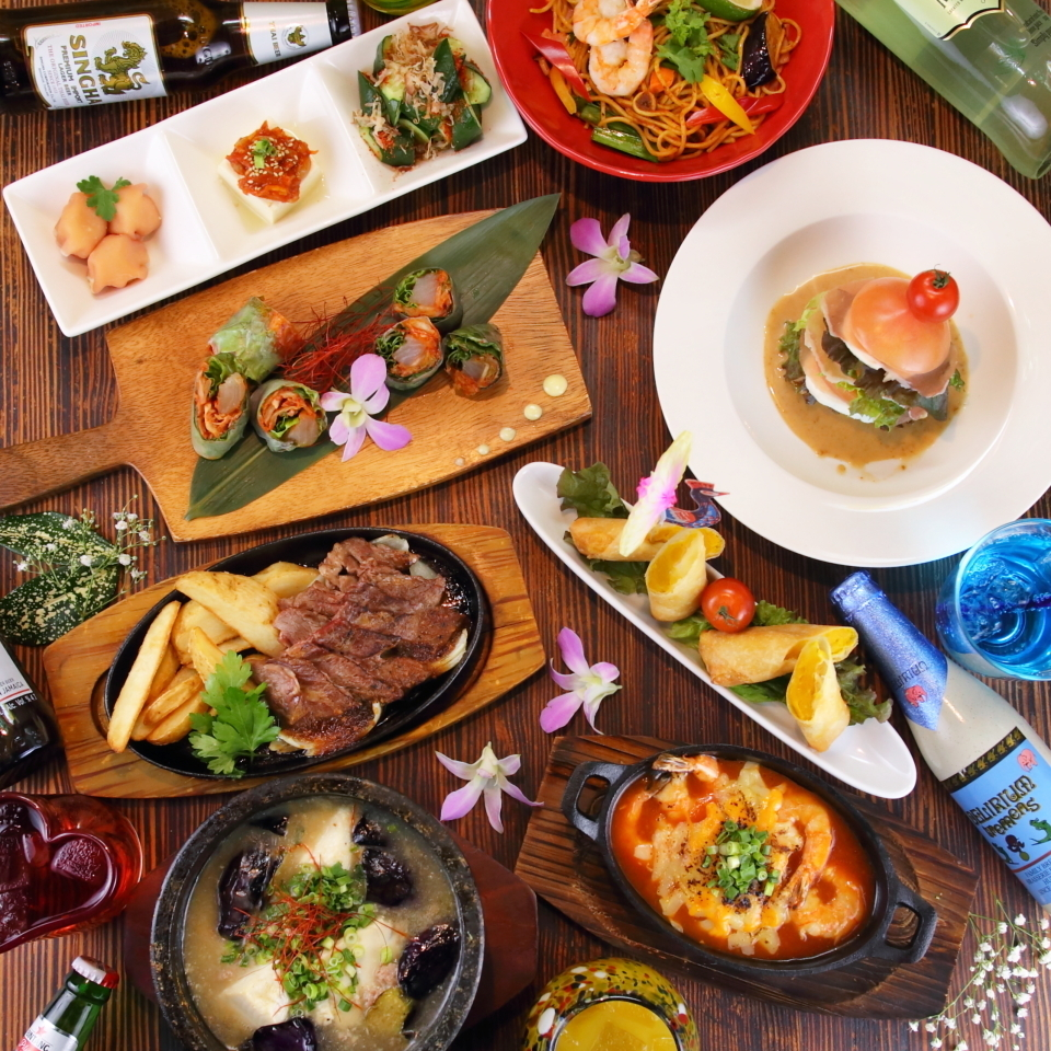 ♪ banquet with each country creative cuisine