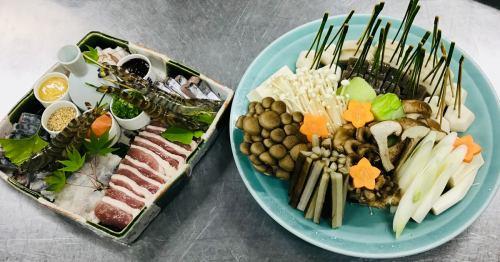 日本盛 酒蔵鍋コース