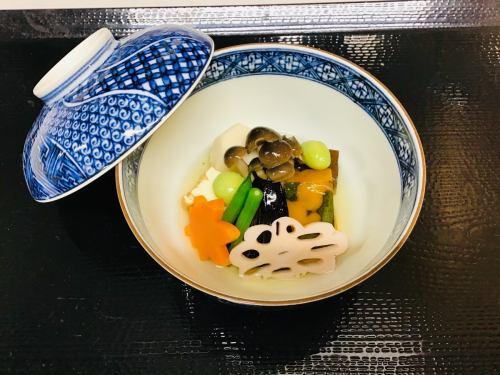 野菜の炊き合せ
